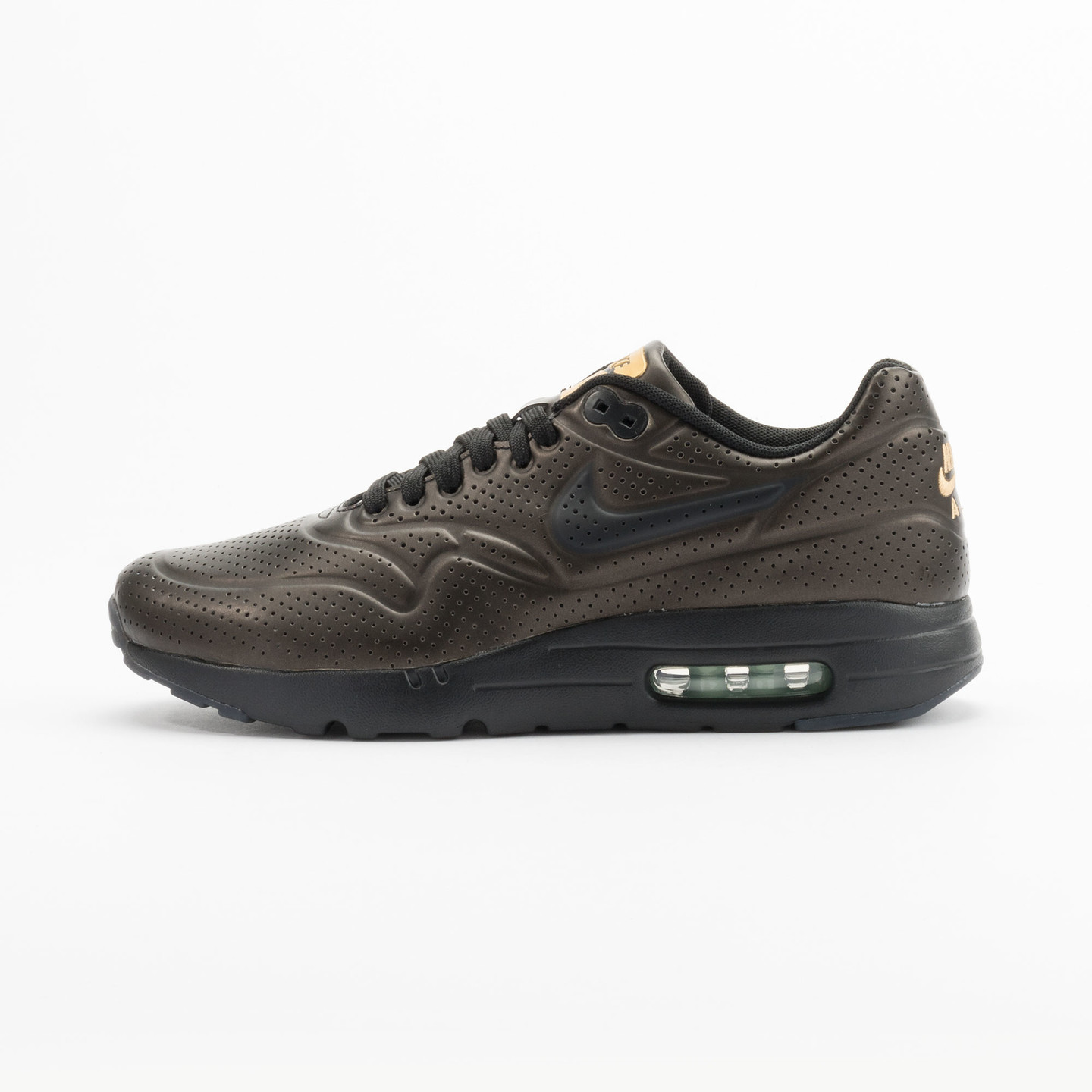 Nike Air Max 1 Ultra Moire Metallic Gold / Black 705297-700-41