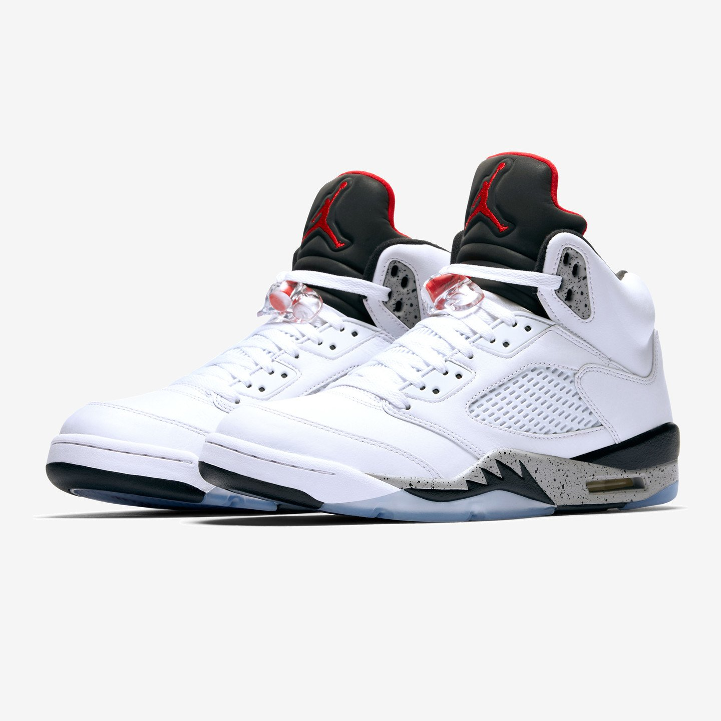 Jordan Air Jordan 5 Retro White / University Red / Black 136027-104
