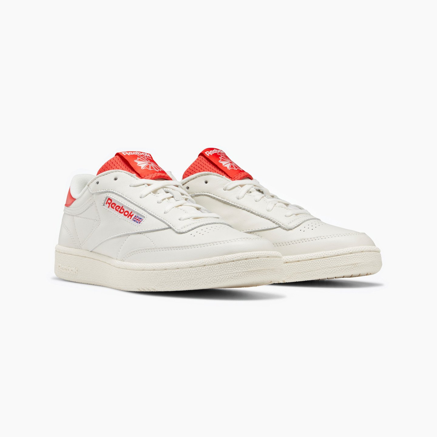 Reebok Club C 85 Chalk / Radiant Red / Humble Blue EF3251