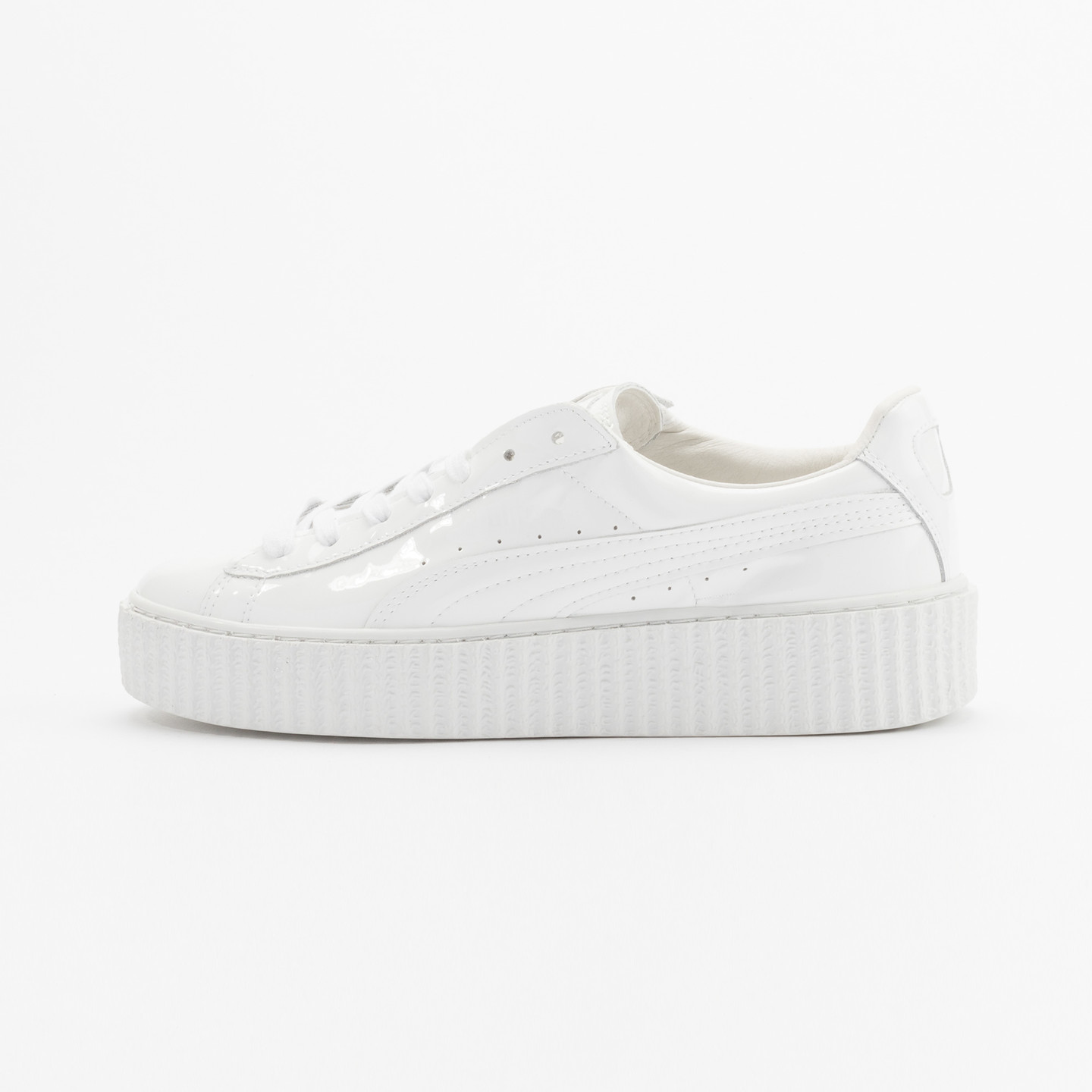 Puma Rihanna Basket Creepers Glo Triple White 362269 01-37.5