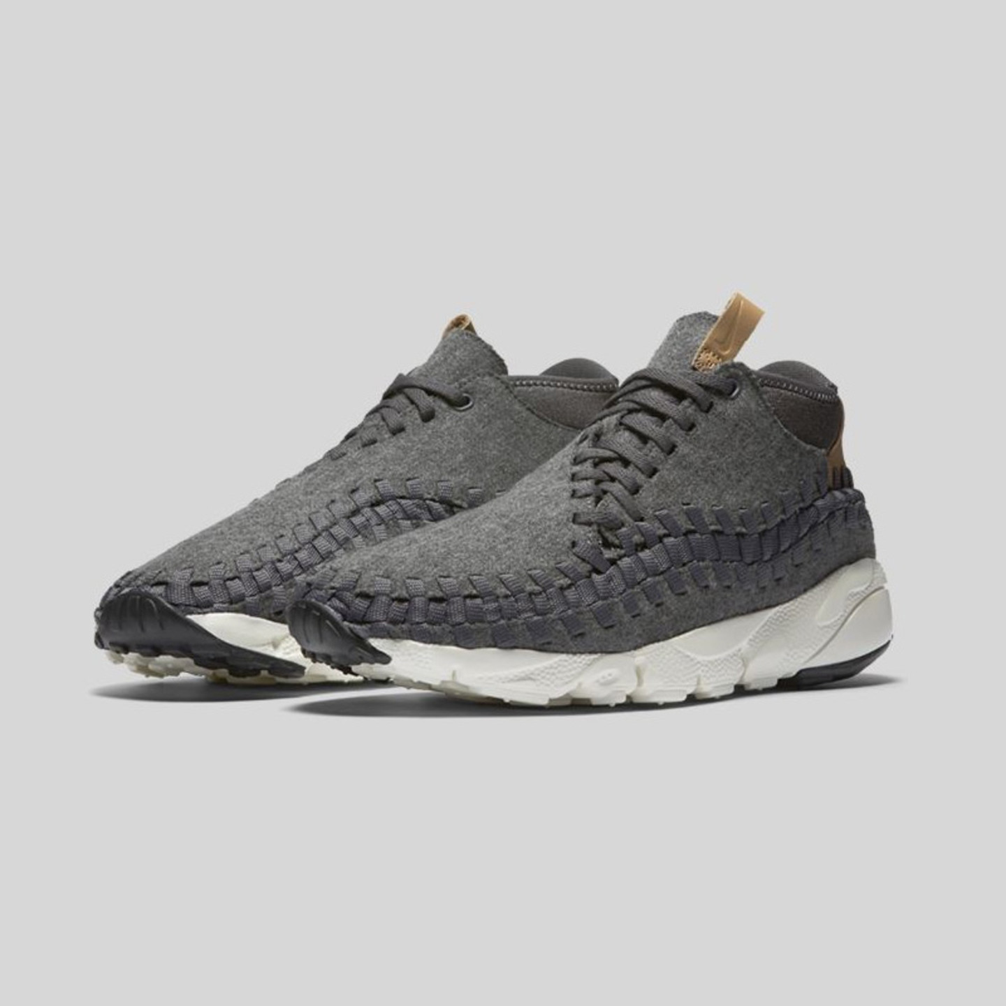 Nike Air Footscape Woven Chukka Dark Grey / Sail / Vachetta Tan 857874-002-44.5
