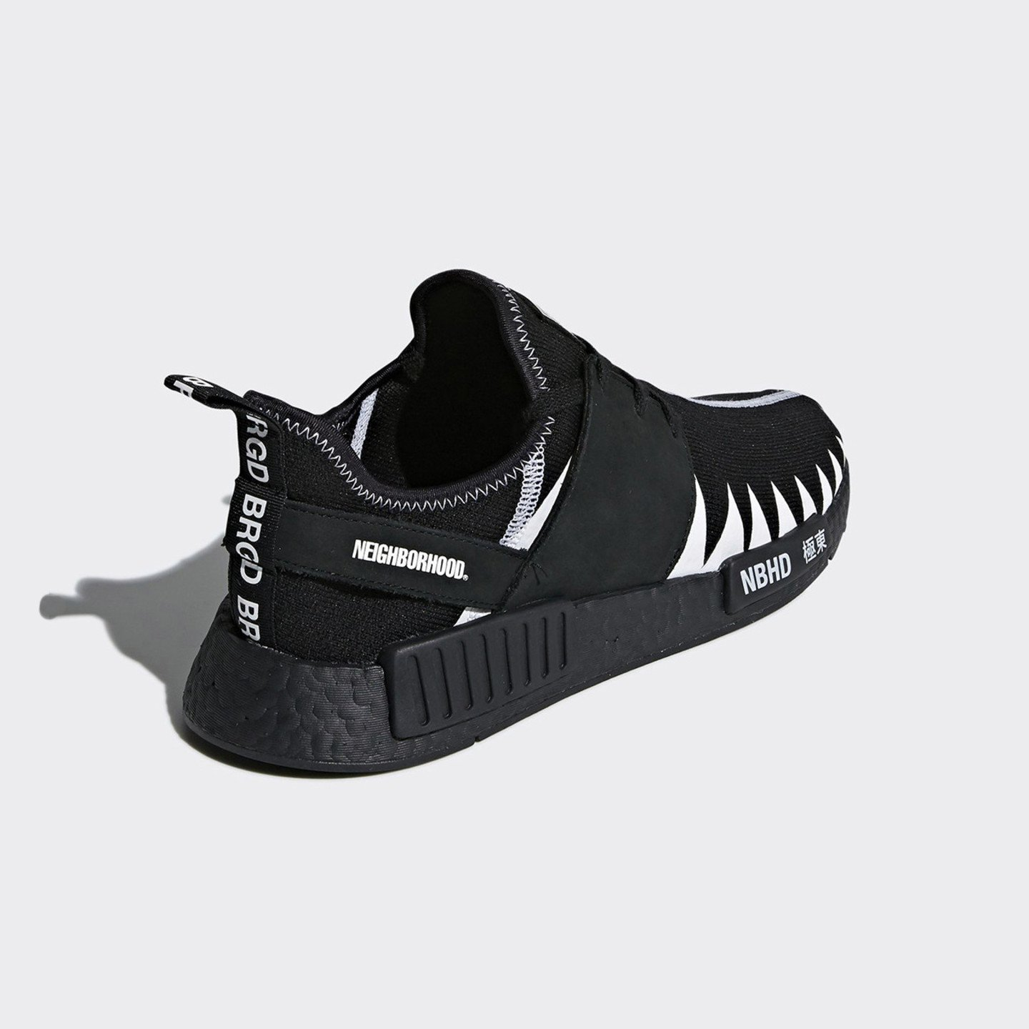 promo code e0e9e 2d58d adidas x Neighborhood NMD R1 PK - Core Black / Ftwr White ...