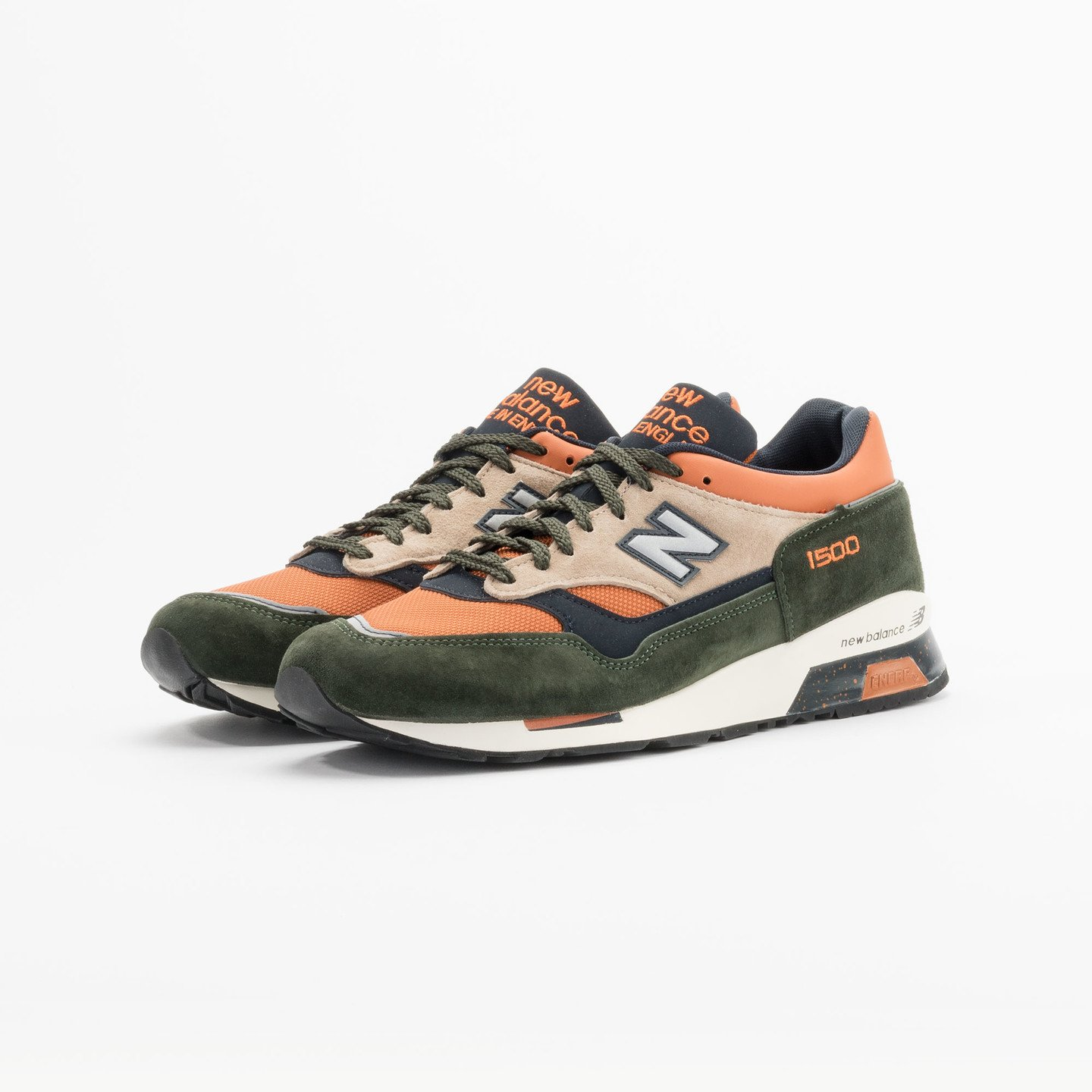 New Balance M1500 RO - Made in England Green / Orange M1500RO-46.5