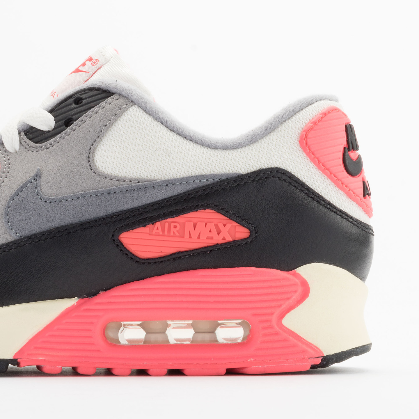 Nike Air Max 90 OG Vintage Infrared Sail/Cool Grey-Mdm Grey-Infrrd 543361-161-44.5