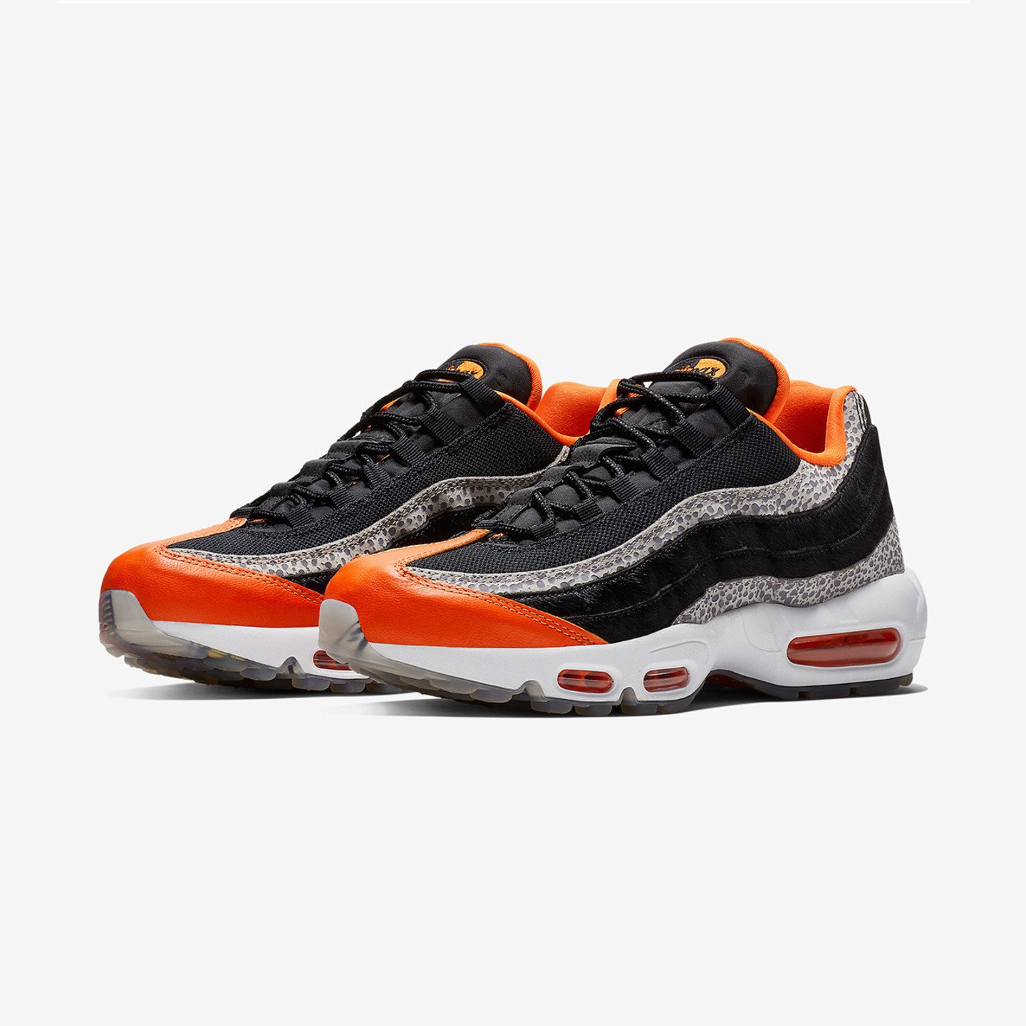 Nike Air Max 95 'Keep Rippin - Stop Slippin'  Black / Granite / Safety Orange AV7014-002