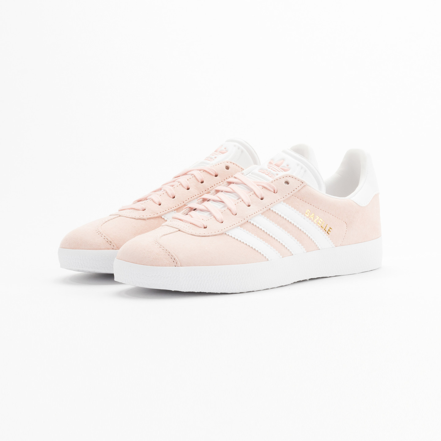 Adidas Gazelle  Vapor Pink / White / Gold Metallic BB5472-38.66