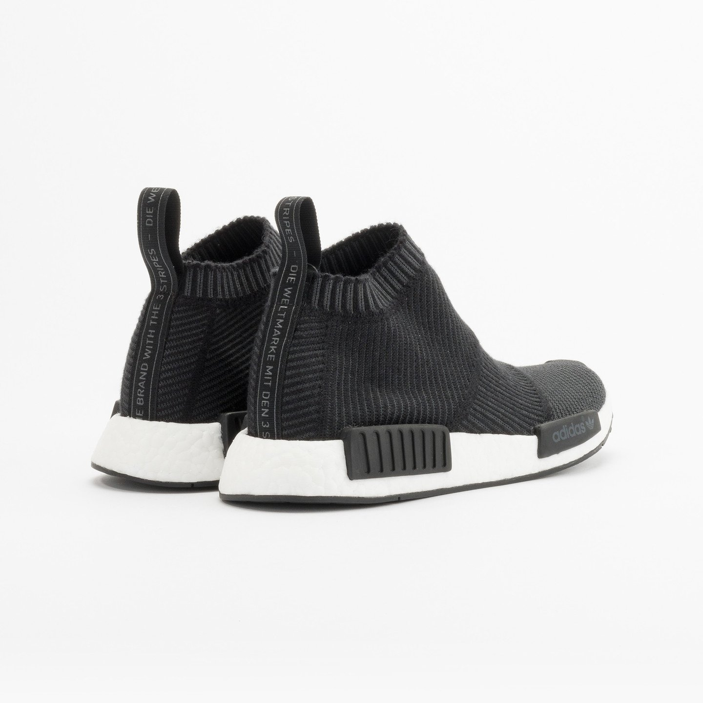 Adidas NMD CS1 City Sock Boost Primeknit Wool Core Black / Running White S32184-40.66