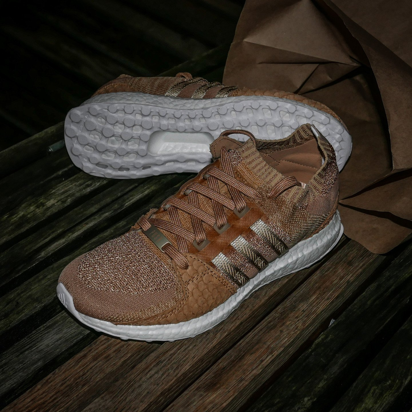 Adidas EQT Support Ultra PK 'King Push' Bodega Brown / White DB0181