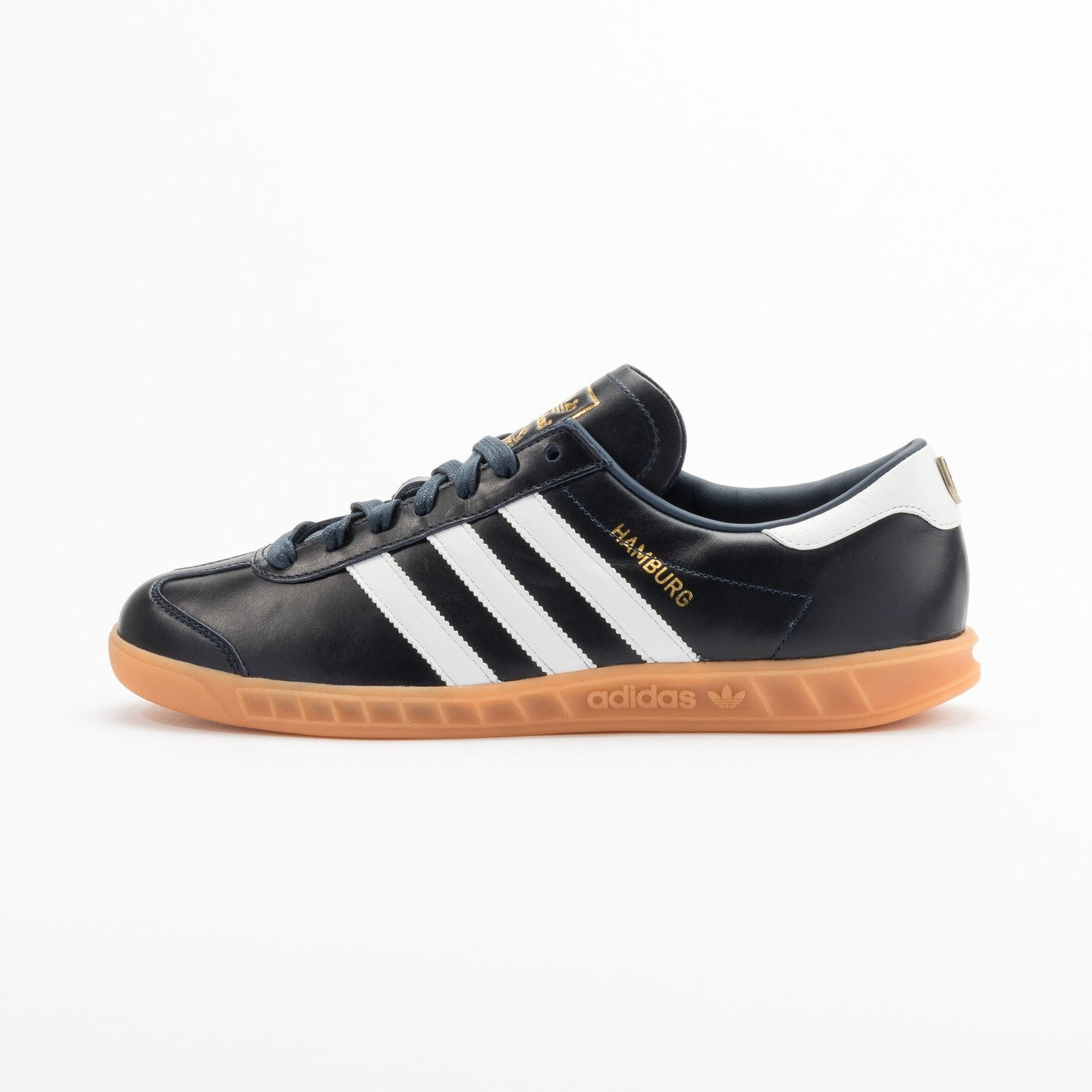 Adidas Hamburg - Made in Germany Navy / White / Gold / Gum S31602-42.66
