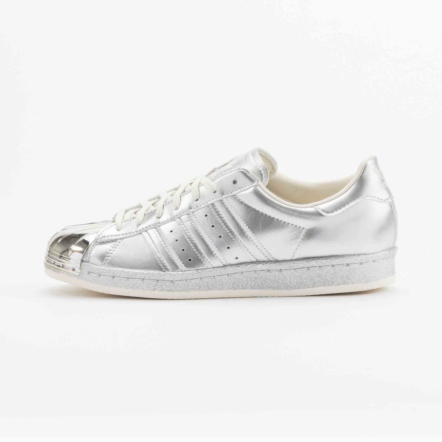 Adidas Superstar 80s Metallic Pack Silver Metallic S82741-38.66