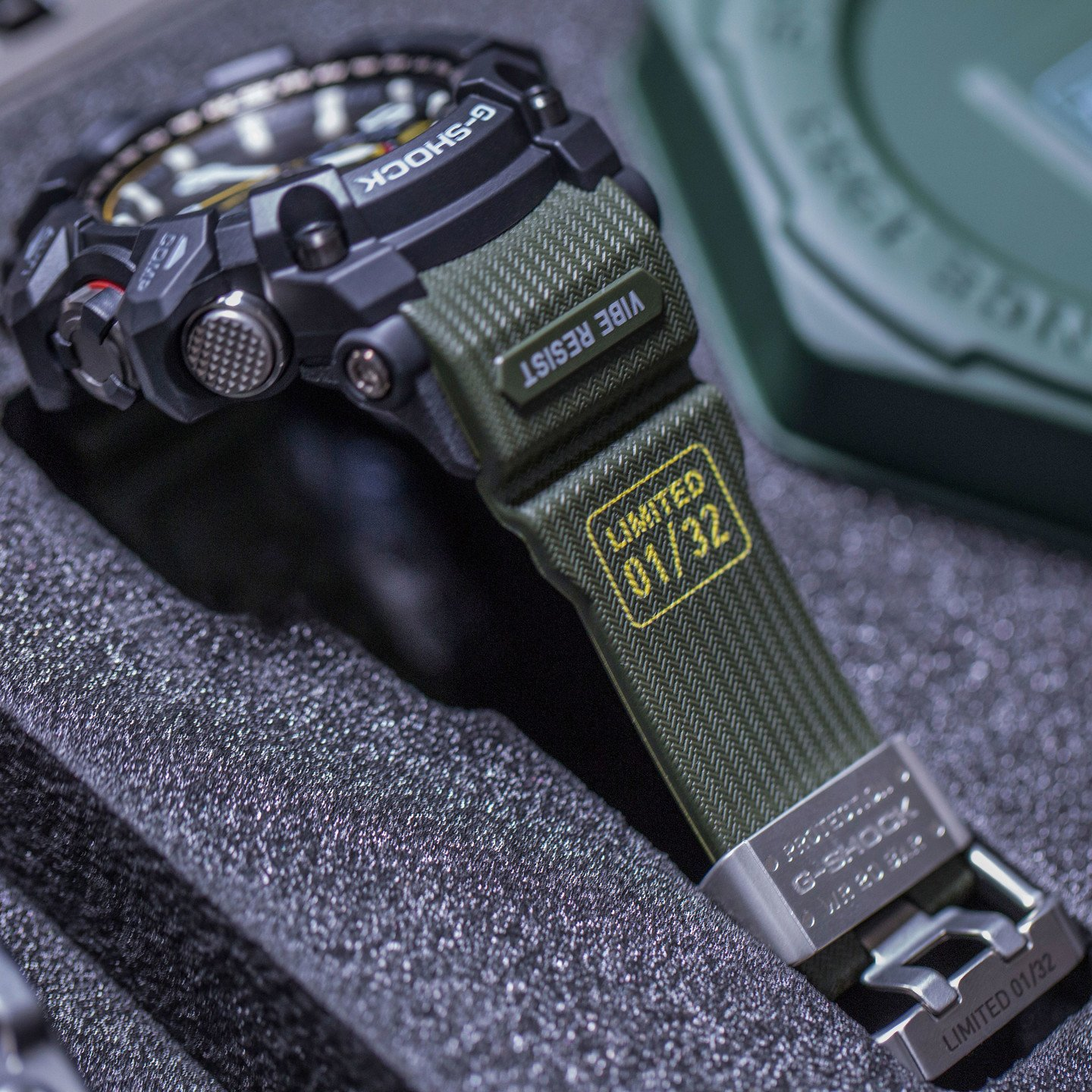 Casio G-Shock Mudmaster Special Limited Edition Military Green GWG-1000-Special