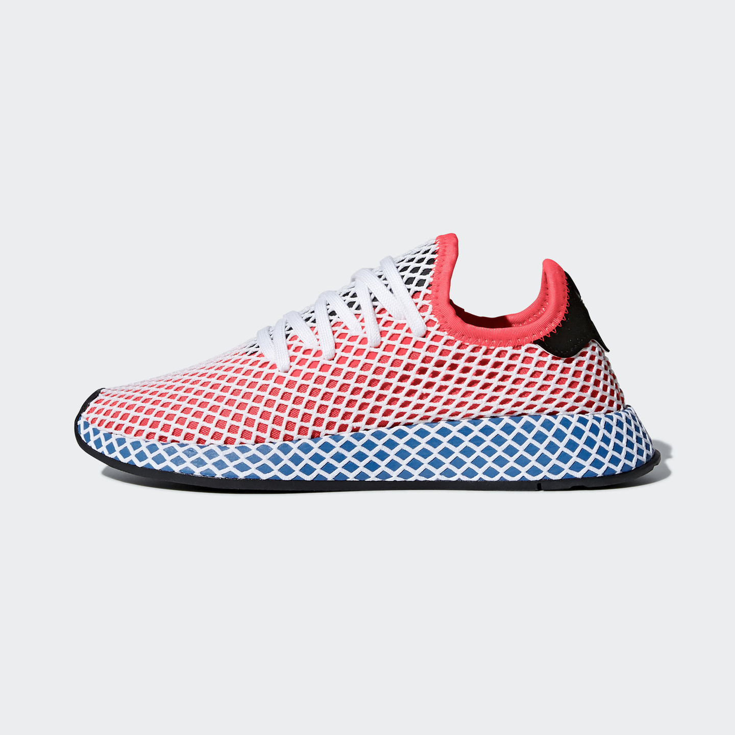 Adidas Deerupt OG Solar Red / Blue Bird / White CQ2624