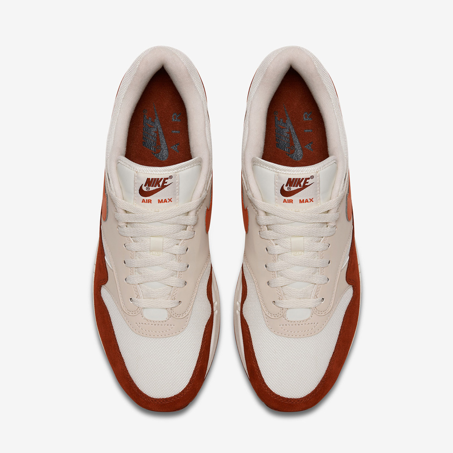 Nike Air Max 1 'Curry 2.0' Sail / Vintage Coral / Mars Stone AH8145-104