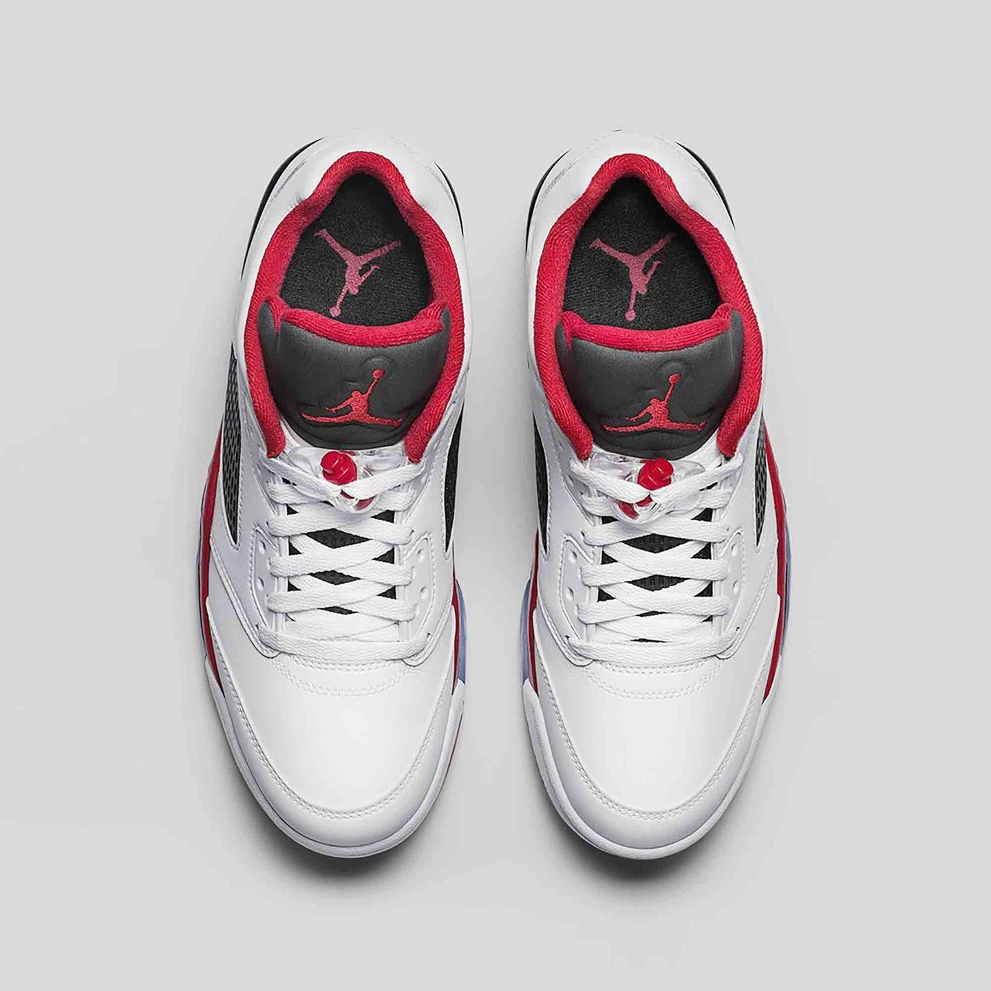 Jordan Air Jordan 5 Low Retro 'Fire Red' White / Fire Red / Black 819171-101-42.5
