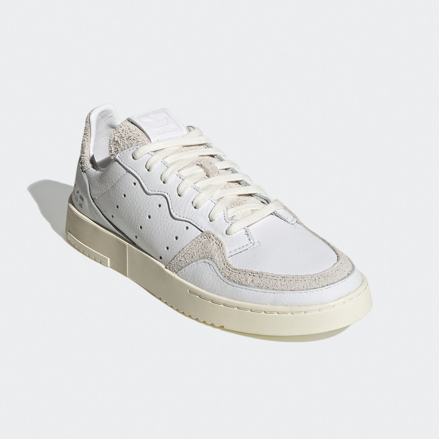 Adidas Supercourt Premium Leather Cloud White / Crystal White / Off White FY0039