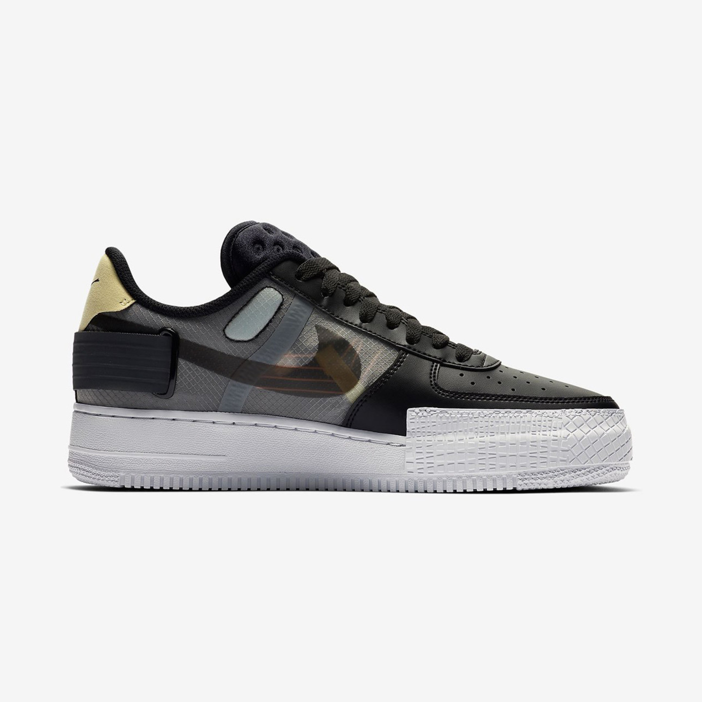 Nike Air Force 1 Low Type N.354 Black / Anthracite / Zinnia / Pink / Tint CI0054-001