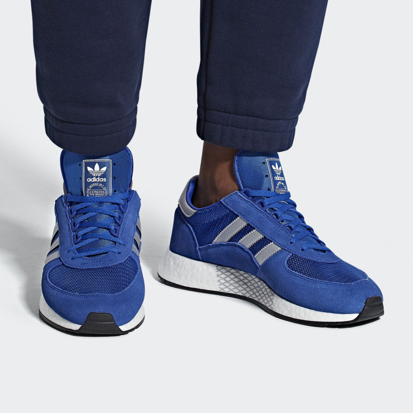 Adidas Marathon x 5923 'Never Made' Blue / Collegiate Red / Collegiate Royal G26782