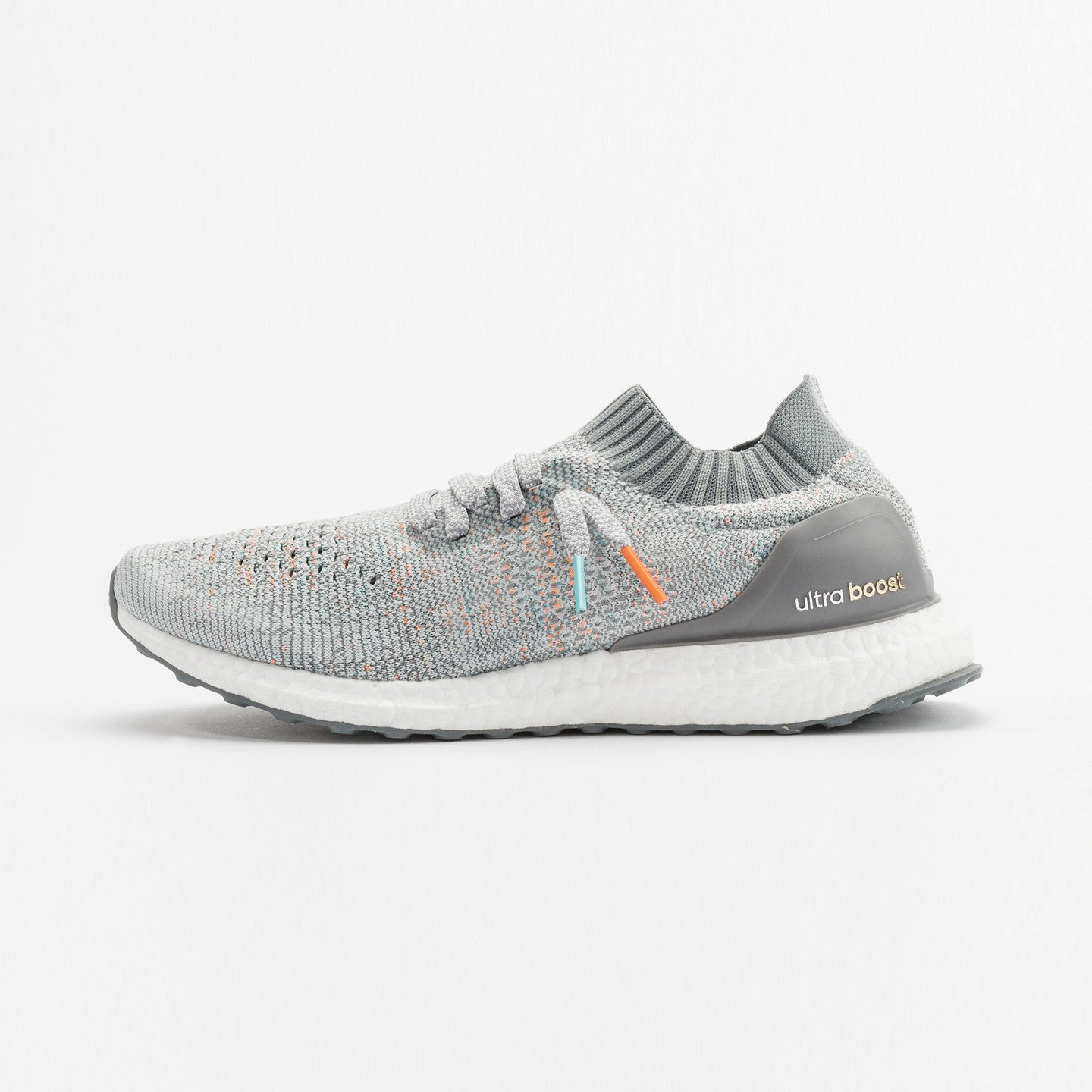 Adidas Ultra Boost Uncaged 'Miami Dolphins' Clear Grey / Mid Grey / Orange / Aqua BB4489-46