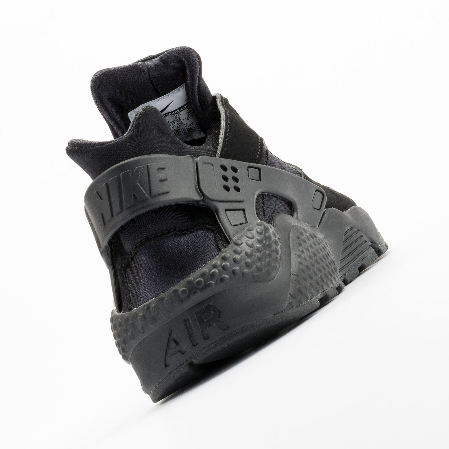 Nike Air Huarache Black/Black-White 318429-003-44