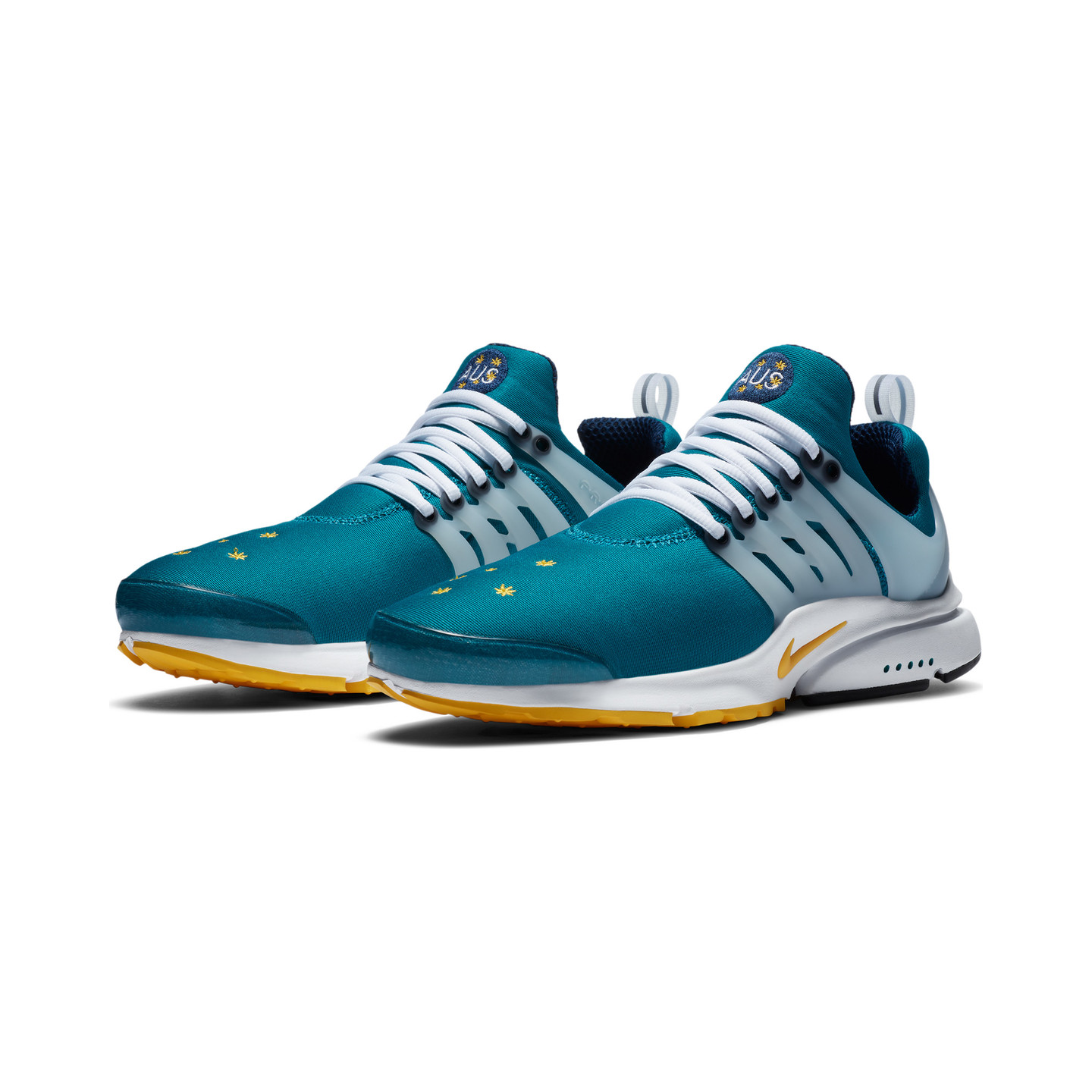 Nike Air Presto 'Australia' Freshwater / Varsity Maize / Midnight Navy CJ1229-301