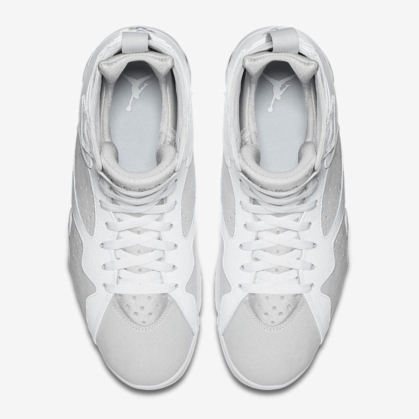 Jordan Air Jordan 7 Retro 'Pure Money' White / Metallic Silver 304775-120