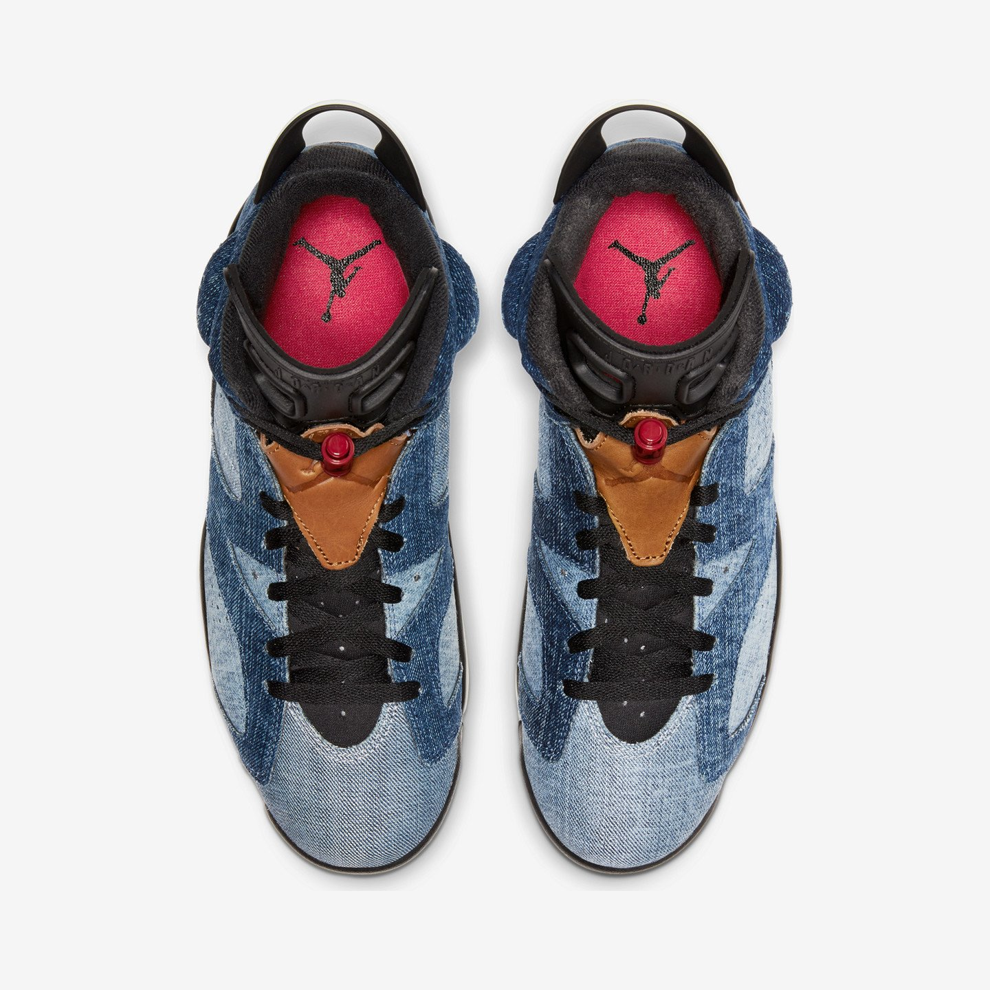 Jordan Air Jordan 6 Retro 'Washed Denim' Washed Denim / Black / Sail / Varsity Red CT5350-401