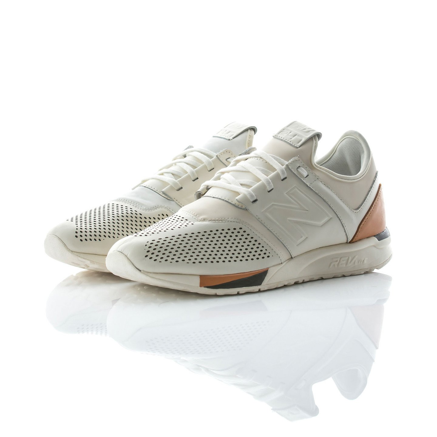 New Balance MRL 247 'Luxe Pack' Off White / Brown MRL247BE-44.5