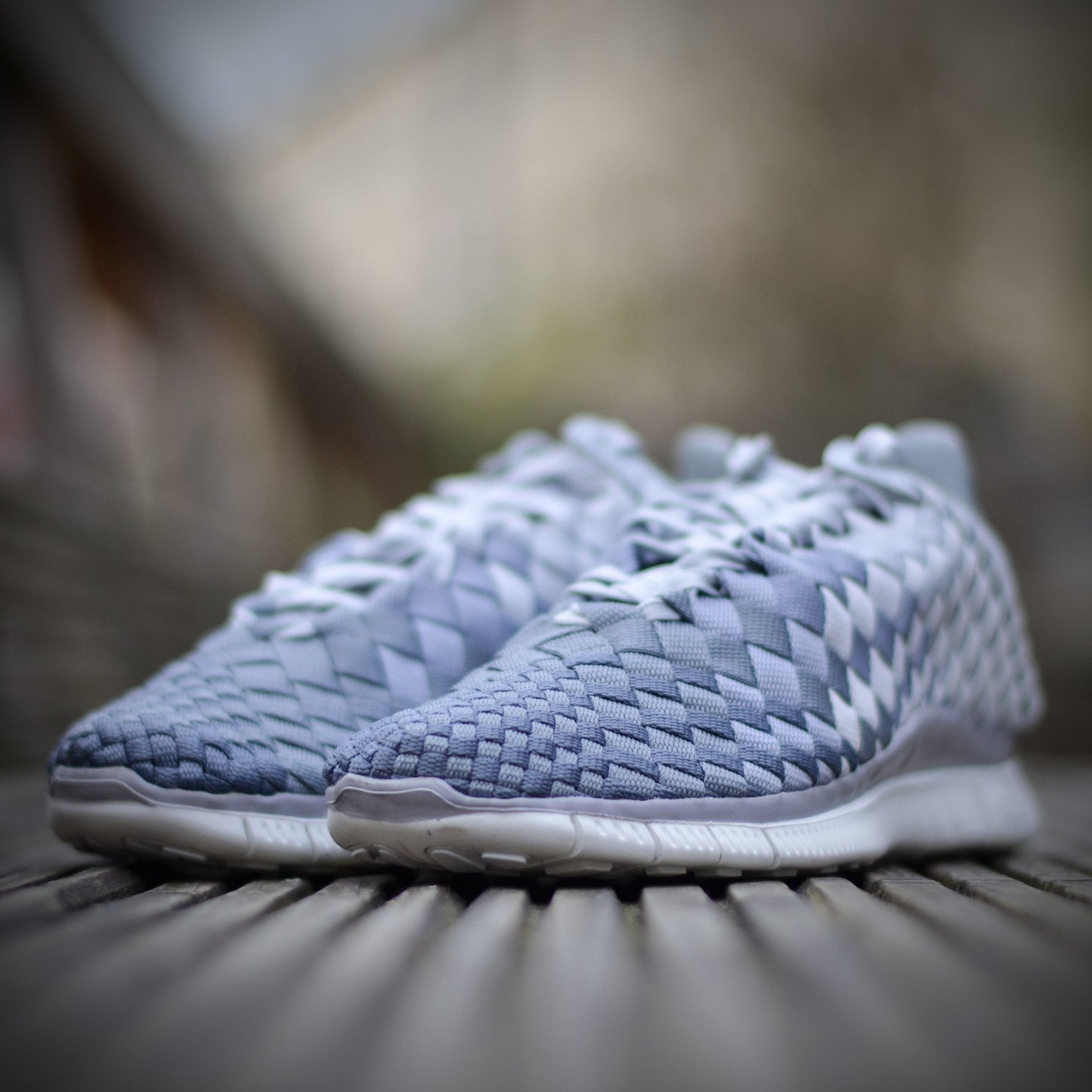 Nike Wmns Free Inneva Woven Pure Platinum / Wolf Grey 833803-001-40.5