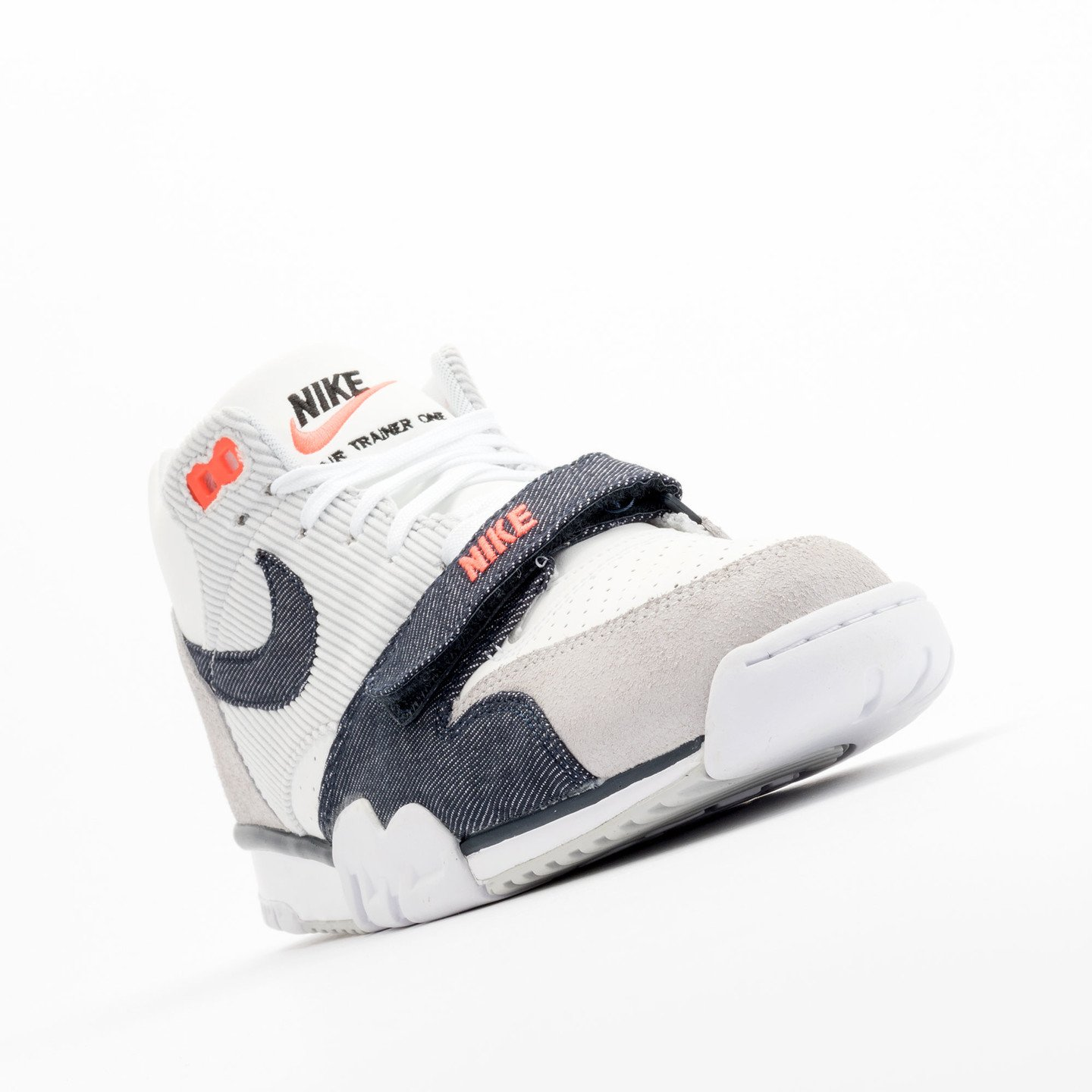 Nike Air Trainer 1 Mid White / Obsidian / Pure Platinum 317554-103-47.5