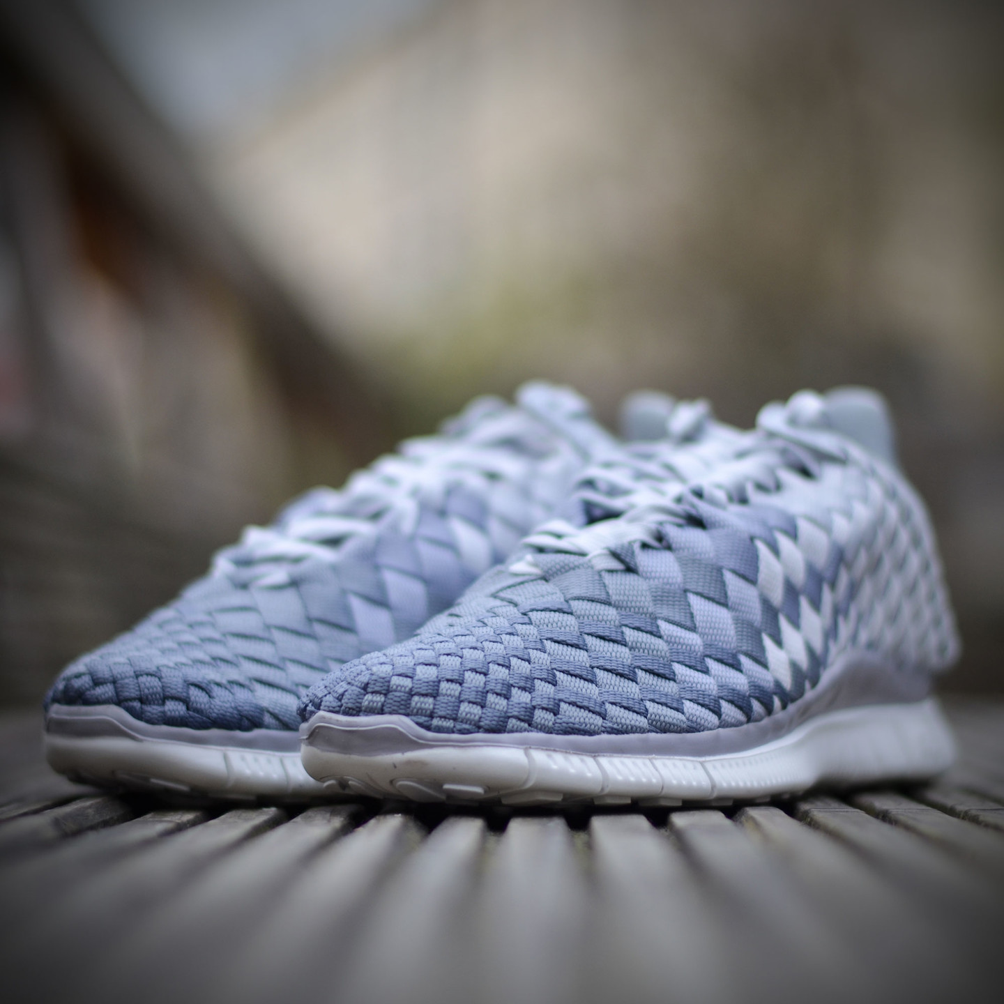 Nike Wmns Free Inneva Woven Pure Platinum / Wolf Grey 833803-001-38.5