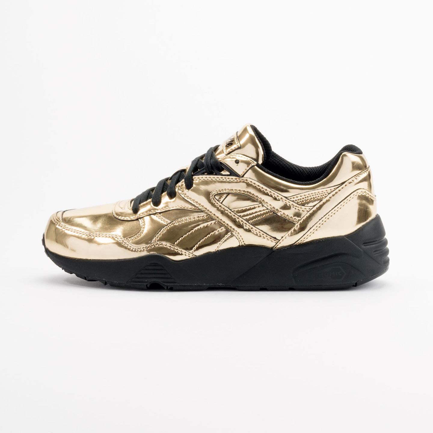 Puma R698 x Vashtie Gold Metallic Gold / Black 358838 01-41