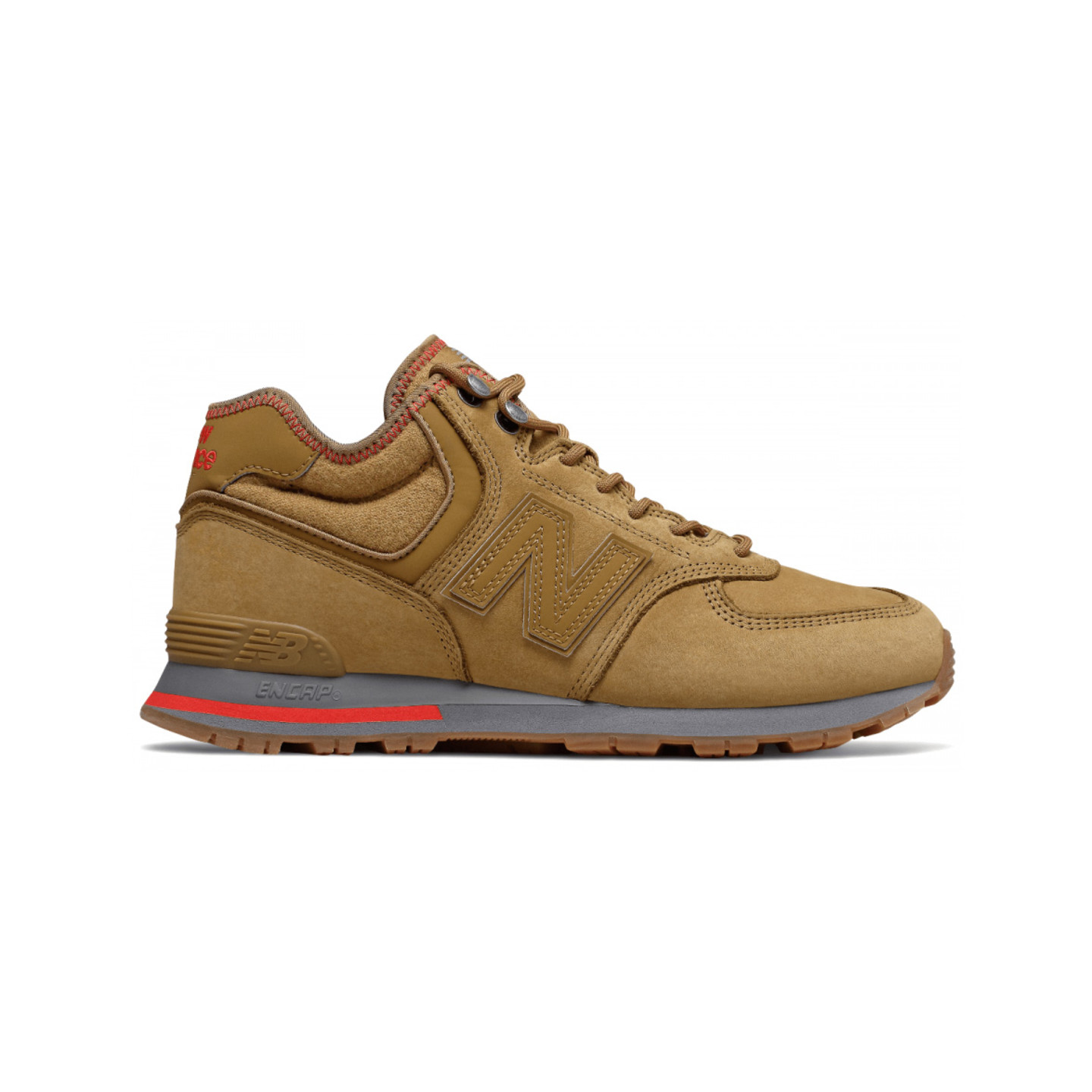 New Balance MH574 Brown / Atomic Red MH574REB
