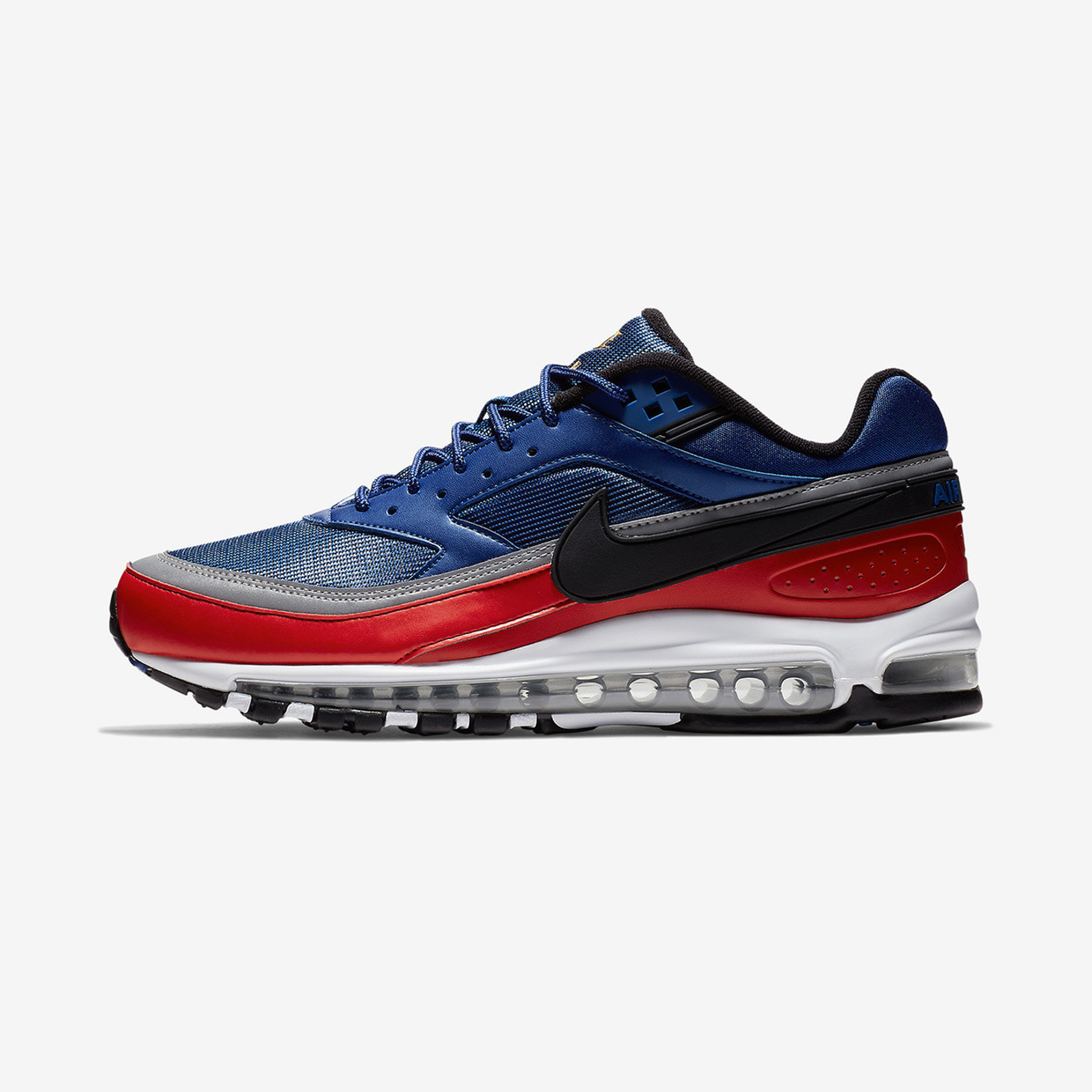 Nike Air Max 97/BW Deep Royal Blue / Black / University Red AO2406-400