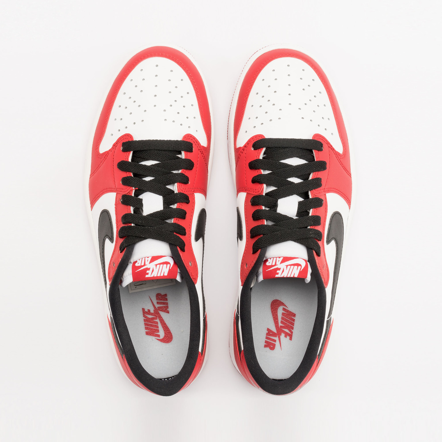 Nike Air Jordan 1 Retro Low OG 'Chicago' Varsity Red / Black / White 705329-600-43