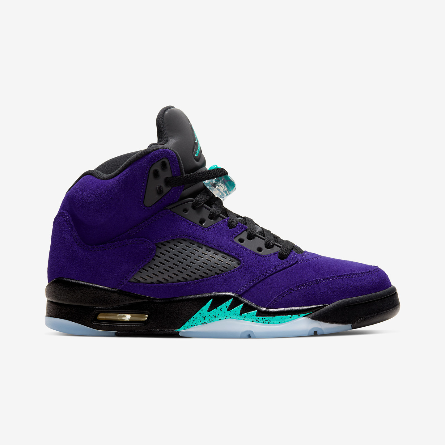 Jordan Air Jordan 5 Retro 'Alternate Grape' Grape Ice / New Emerald / Black 136027-500