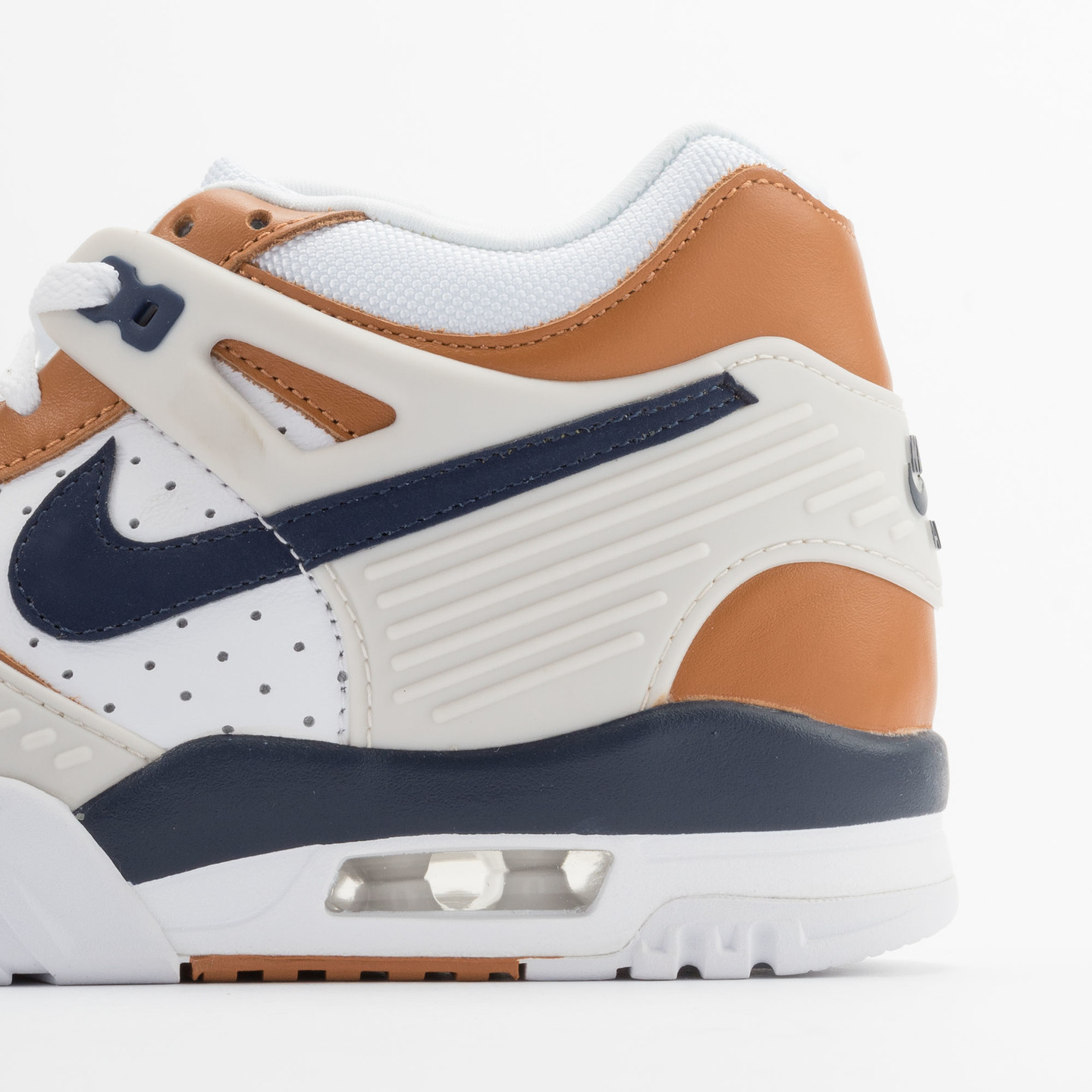 Nike Air Trainer 3 Premium Medicine Ball White/Mid Navy-Gngr-Lght Bn 705425-100-38.5