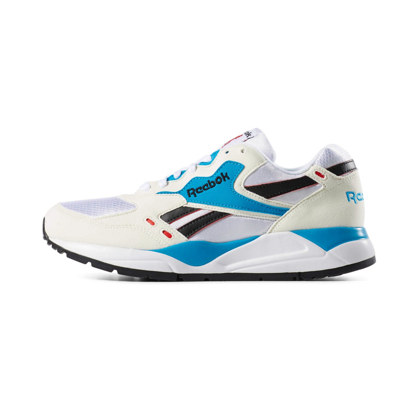Reebok Bolton Chalk / White / Red Rush / California Blue / Black M49098
