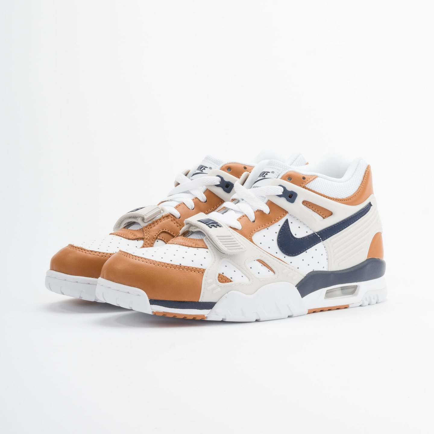 Nike Air Trainer 3 Premium Medicine Ball White/Mid Navy-Gngr-Lght Bn 705425-100-45.5