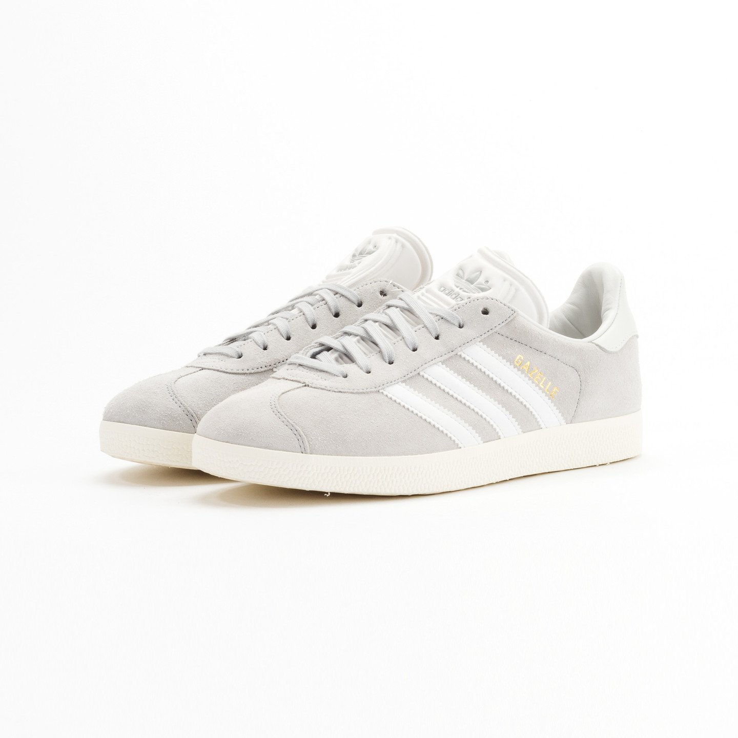 Adidas Gazelle  Clear Onyx / White / Gold Metallic S76221-42