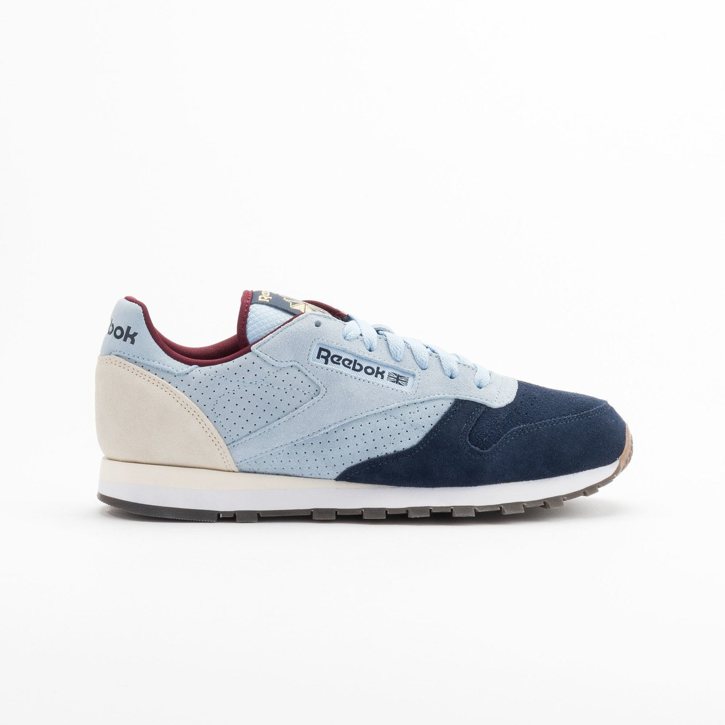 Reebok Classic Leather Int Navy / Light Blue / Sand V66829-47