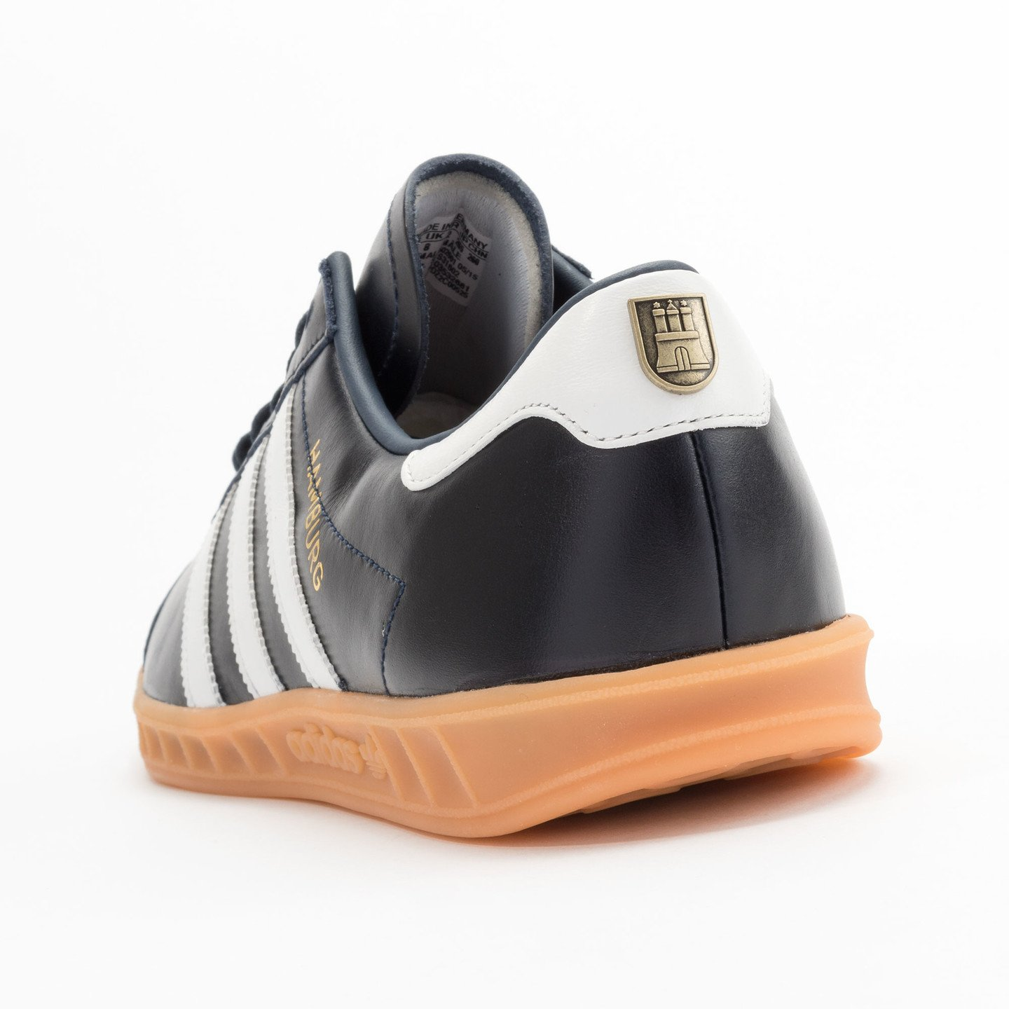 Adidas Hamburg - Made in Germany Navy / White / Gold / Gum S31602-41.33