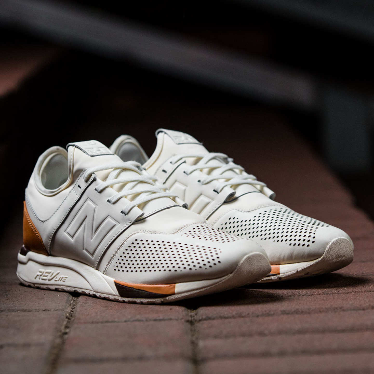 New Balance MRL 247 'Luxe Pack' Off White / Brown MRL247BE-46.5