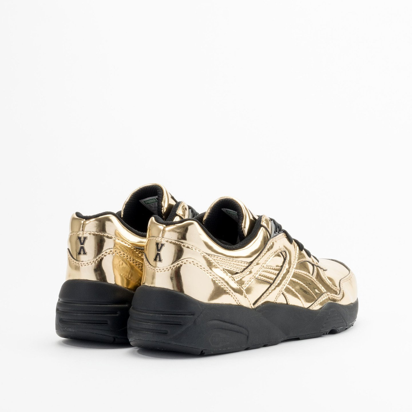 Puma R698 x Vashtie Gold Metallic Gold / Black 358838 01-40.5