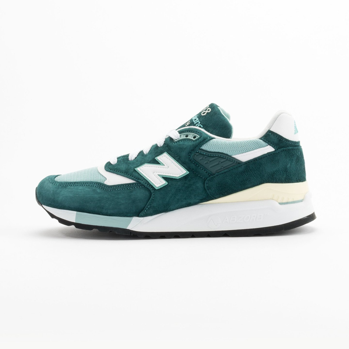 New Balance M998 Made in USA Sea Green / White M998CSAM-46.5