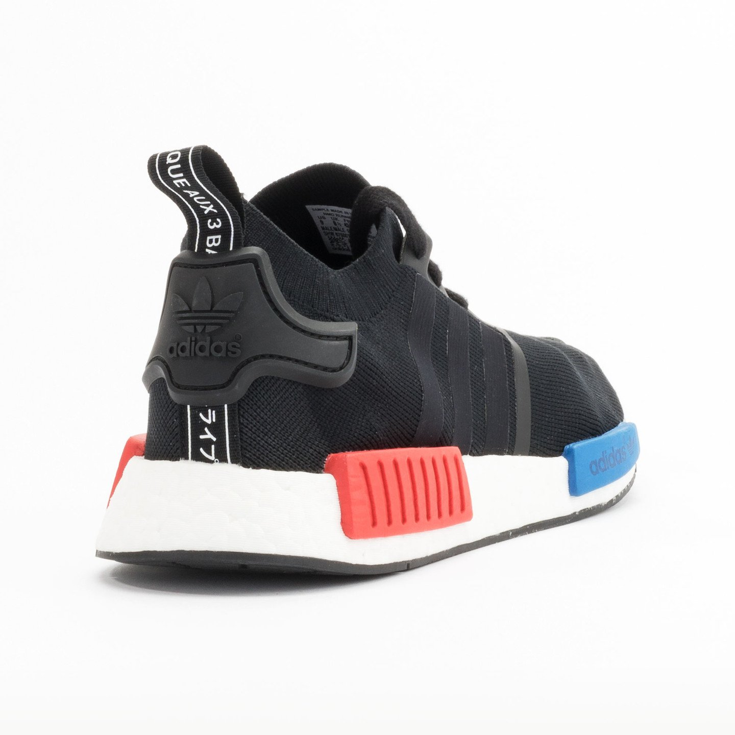 Adidas NMD Runner PK Primeknit Black / Red / Blue / White S79168-38.66