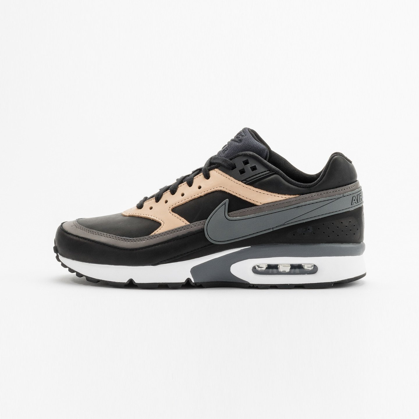 Nike Air Max BW Premium Leather Black / Dark Grey / Vachetta 819523-001-44