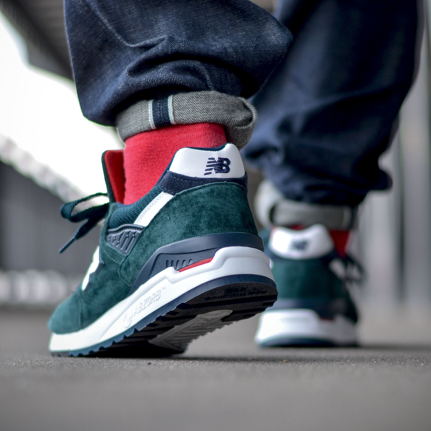 New Balance M998 Made in USA Dark Green M998CHI-44.5
