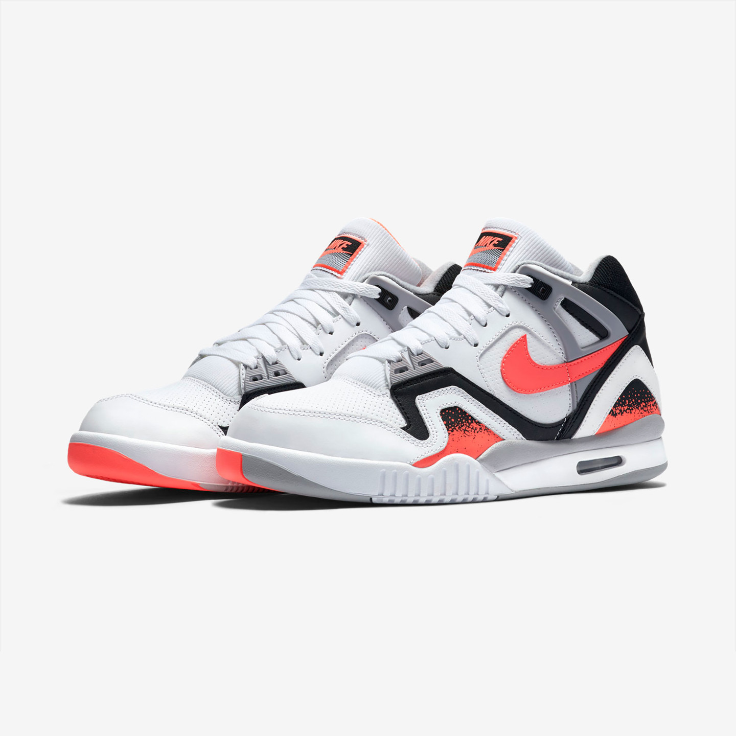 Nike Air Tech Challenge II White / Hot Lava 318408-104-43