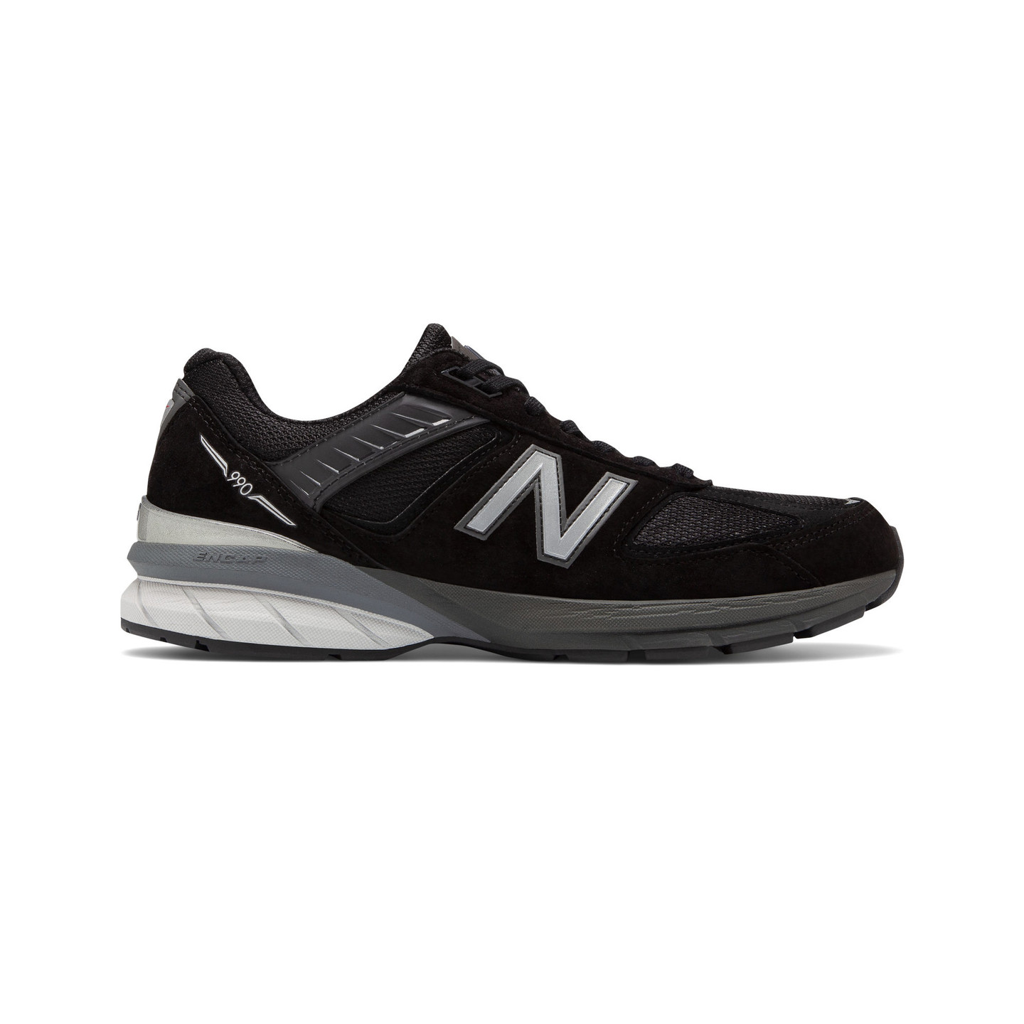New Balance M990 V5 - Made in USA Black / Grey M990BK5