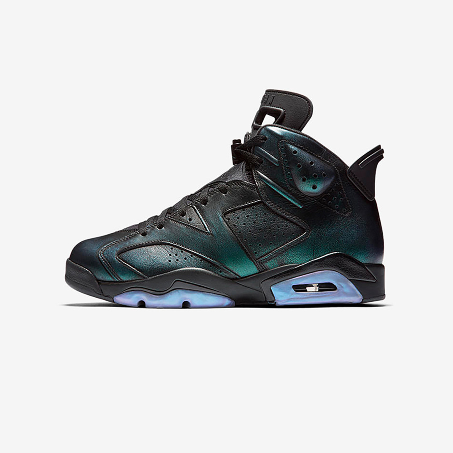 Jordan Air Jordan 6 Retro GS 'All Star' Black / Iridescent 907960-015-38